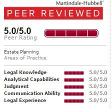 Martindale-Hubbell Peer Reviewed